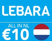 Lebara All in NL €10