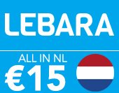 Lebara All in NL €15