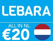 Lebara All in NL €20