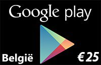 Google Play BE €25