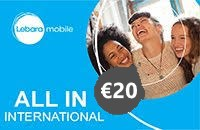 Lebara All in International €20