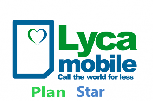 Lyca Plan BE Staar €15