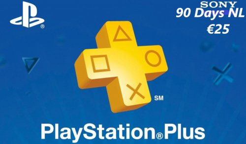 Playstation Plus Gift Card 3 maanden