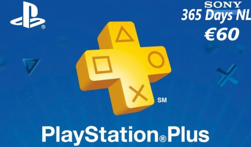 Playstation Plus Gift Card 12 maanden